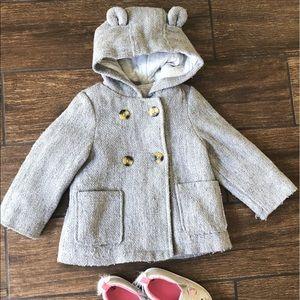 Carter's Gray Girls Coat
